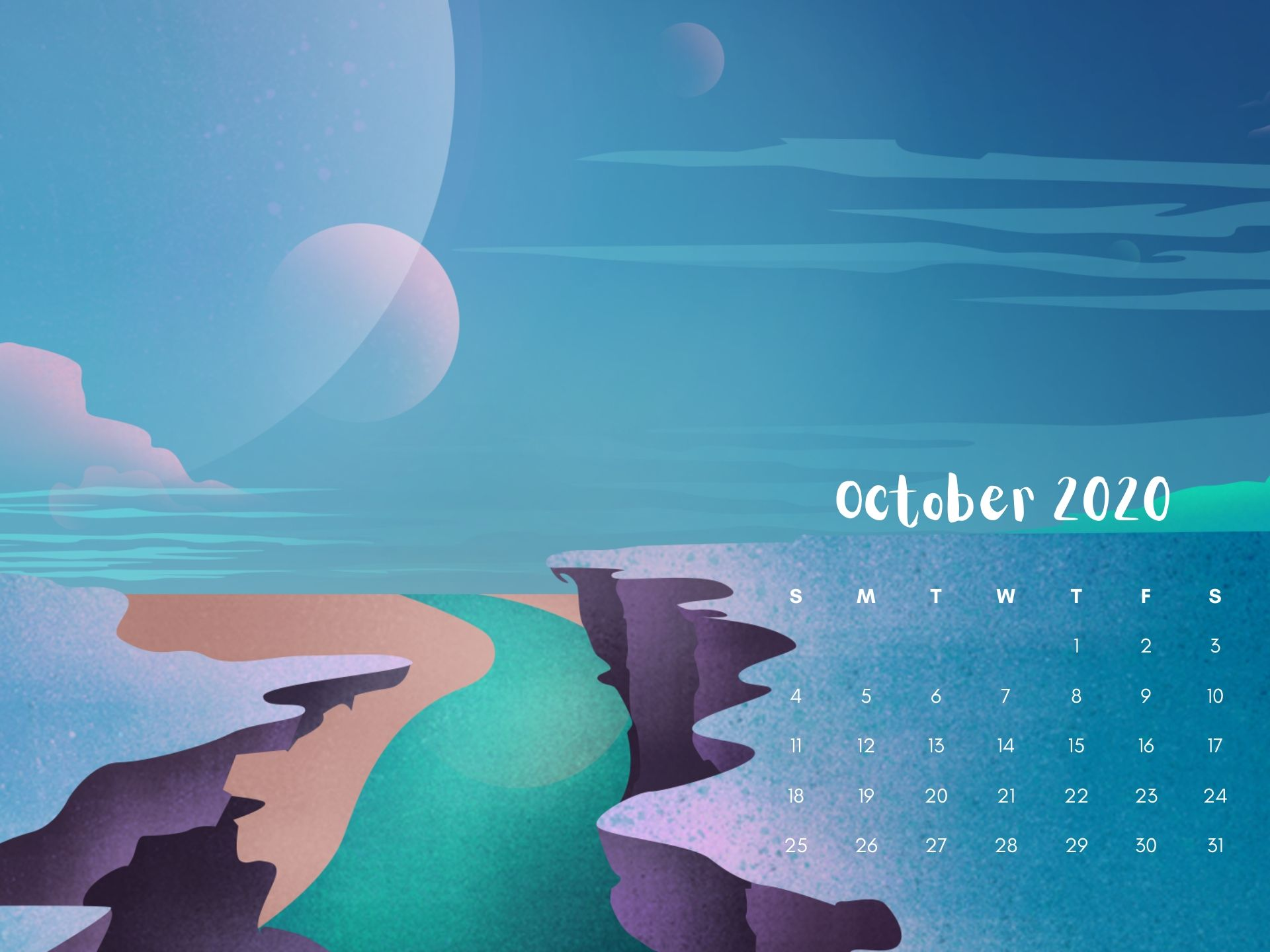 october halloween wallpaper