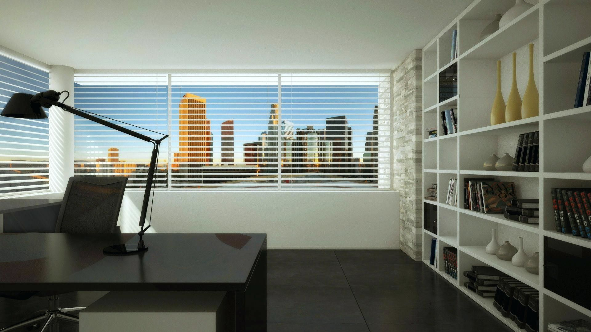 office wallpaper interior design