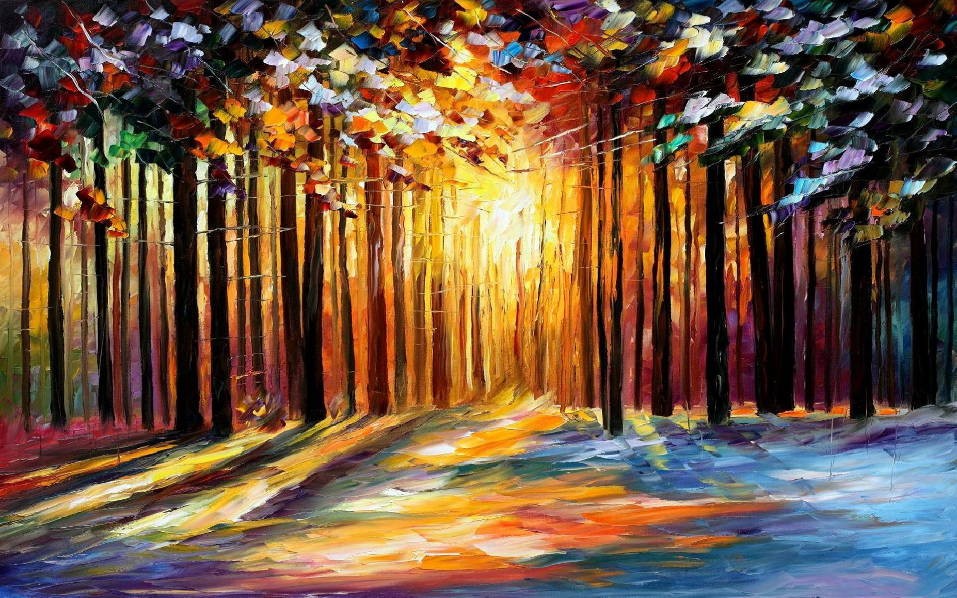 painting background images