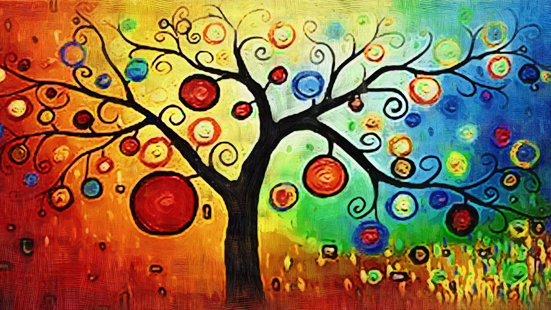 art painting wallpaper free download