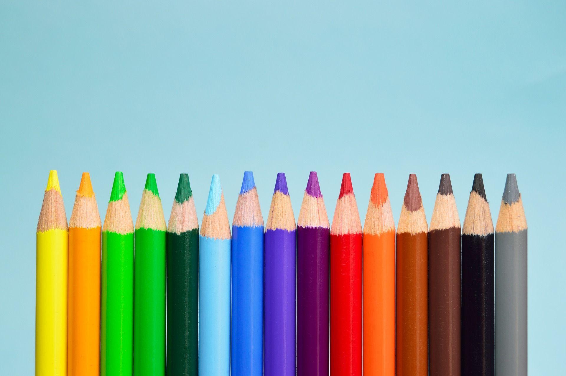 4k color pencils wallpapers
