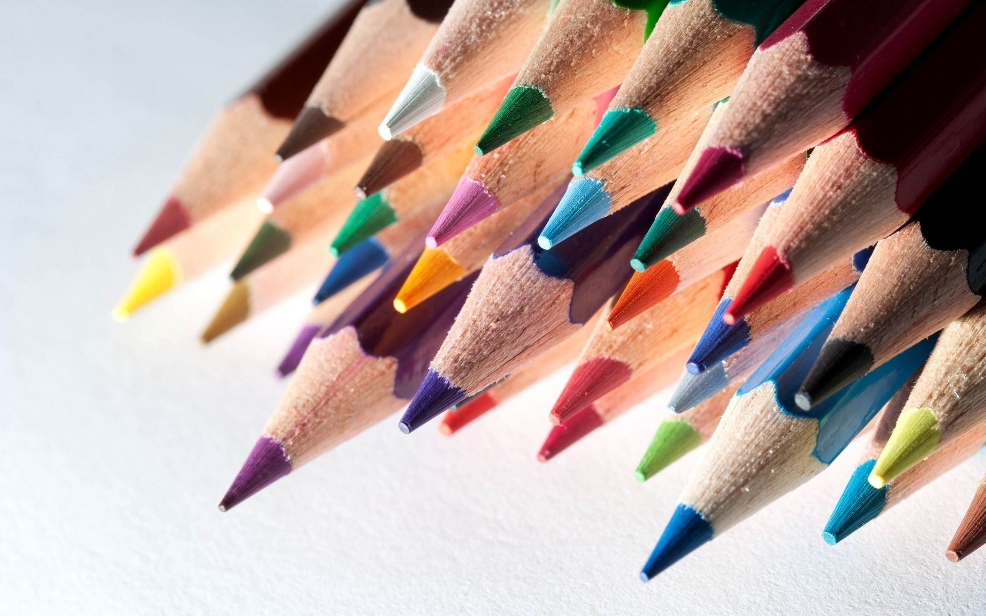 coloured pencils wallpapers hd