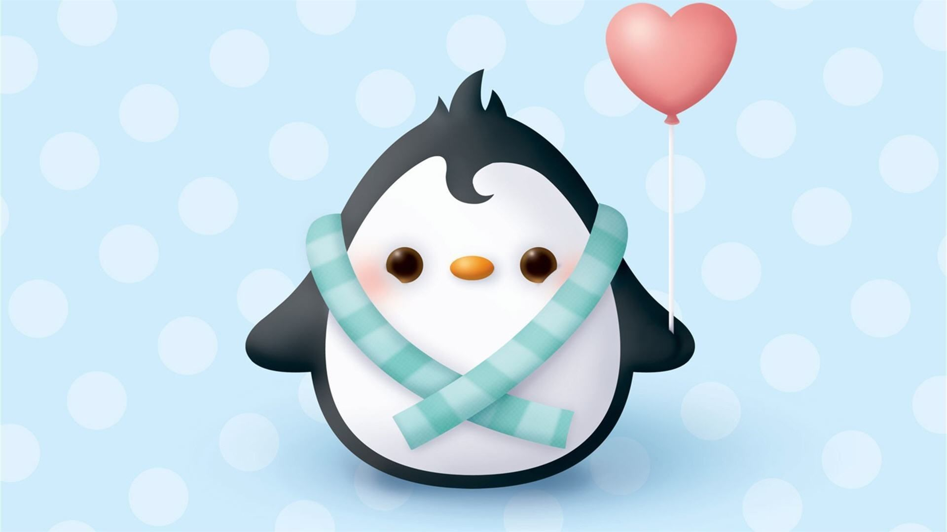 wallpaper pingwin