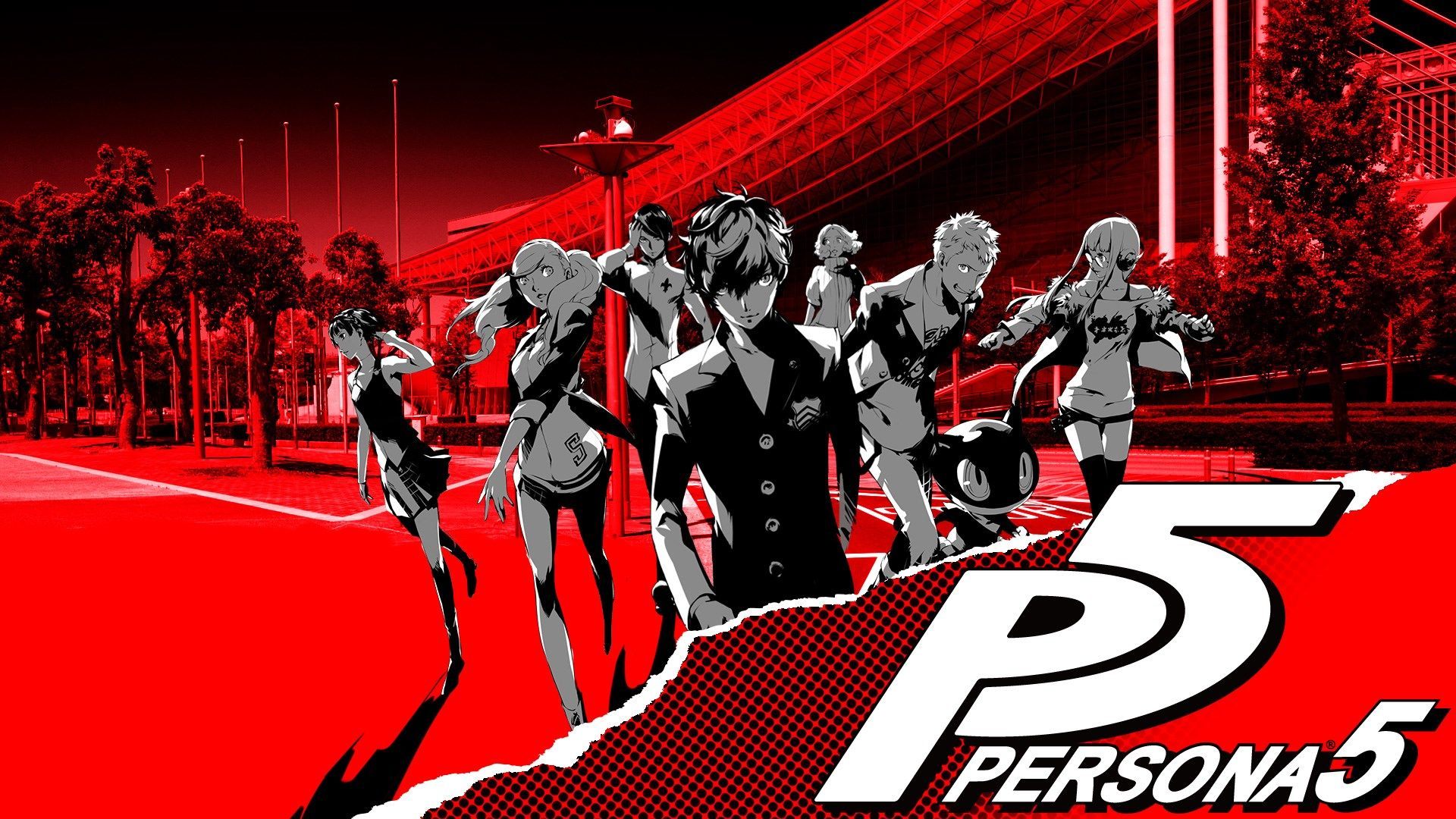 persona 5 haru wallpaper