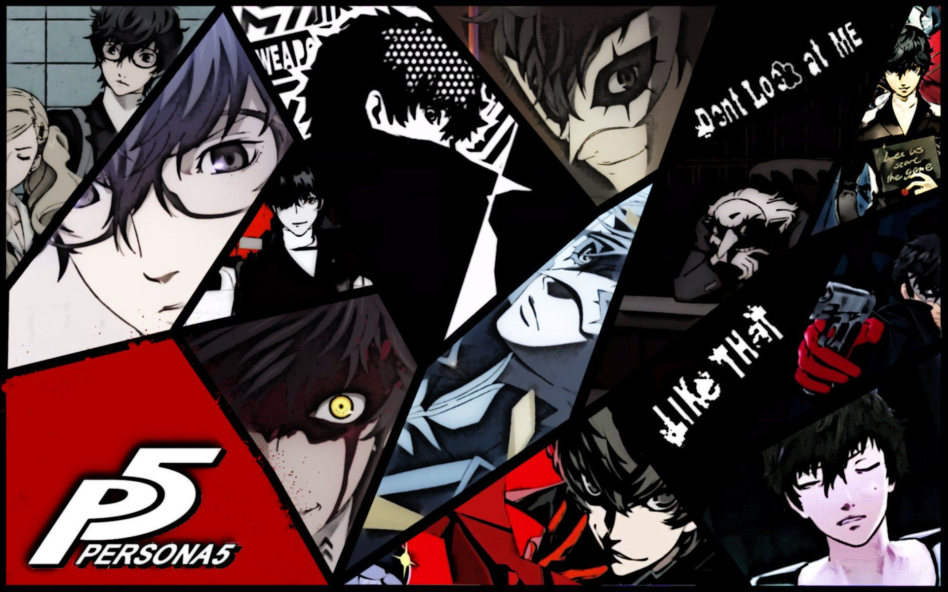 persona 5 star background