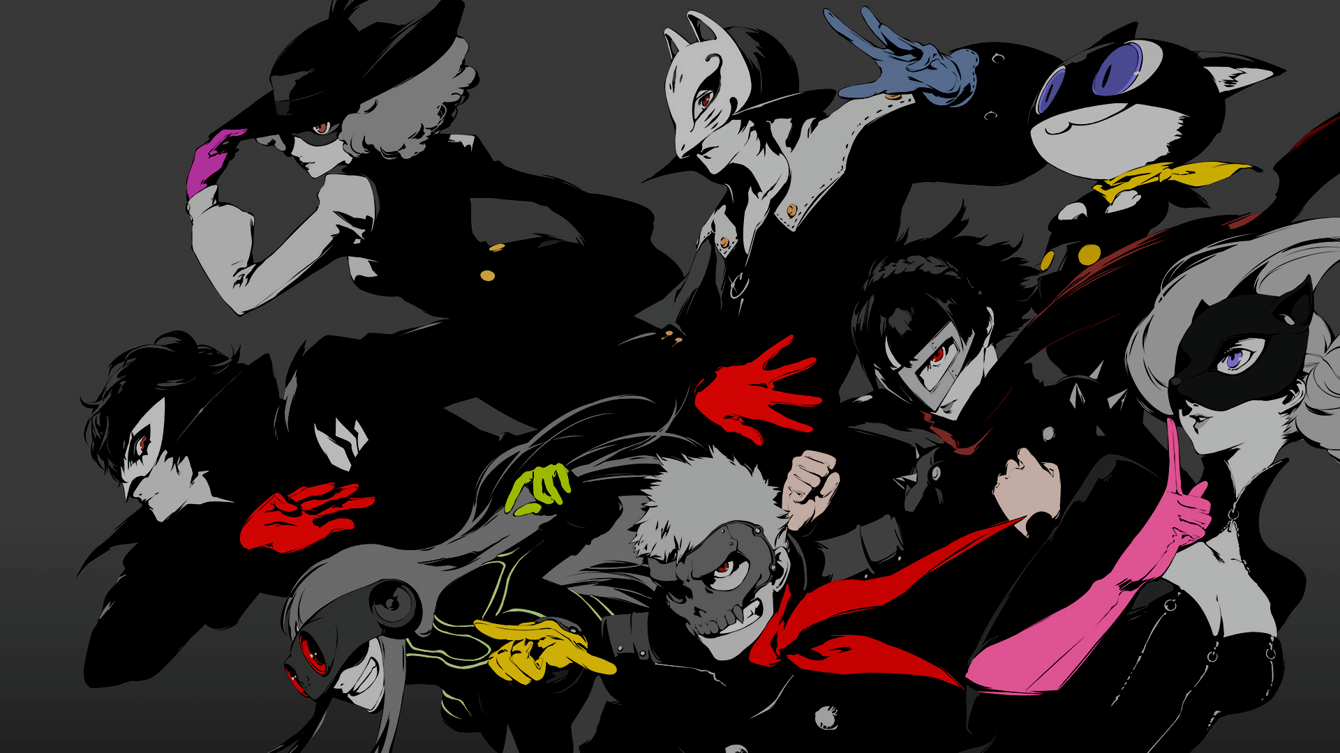 persona 5 joker wallpaper