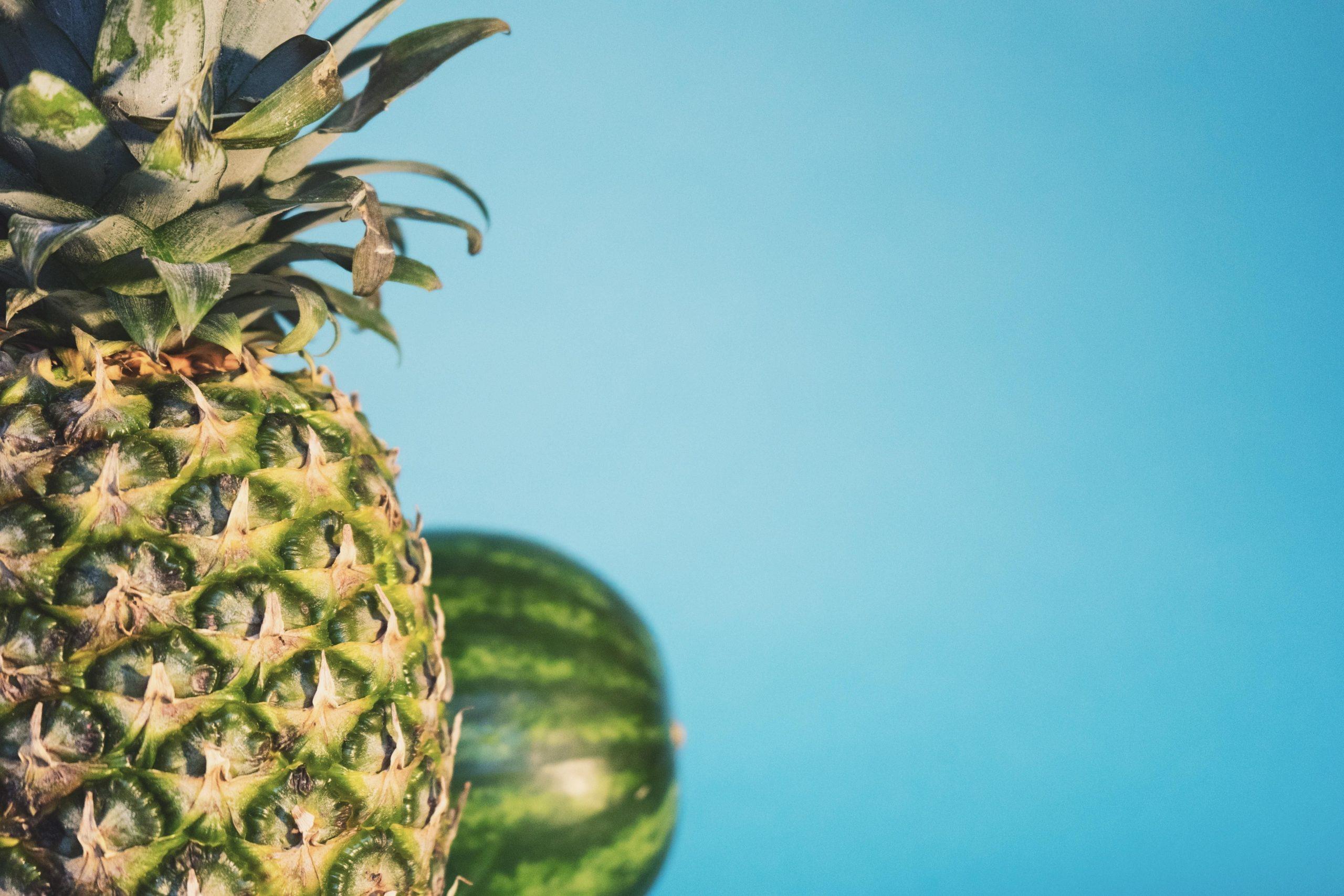 hd pineapple wallpaper