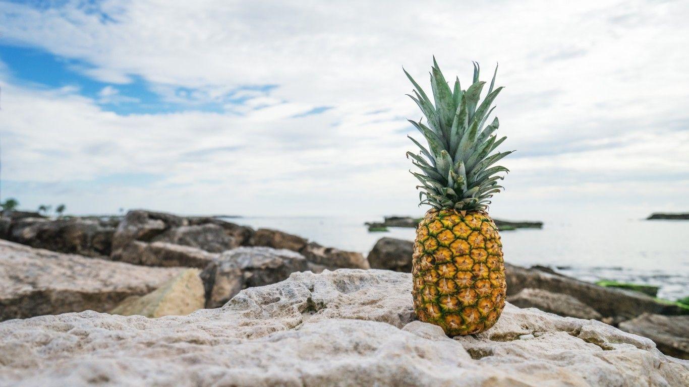 pineapple iphone wallpaper