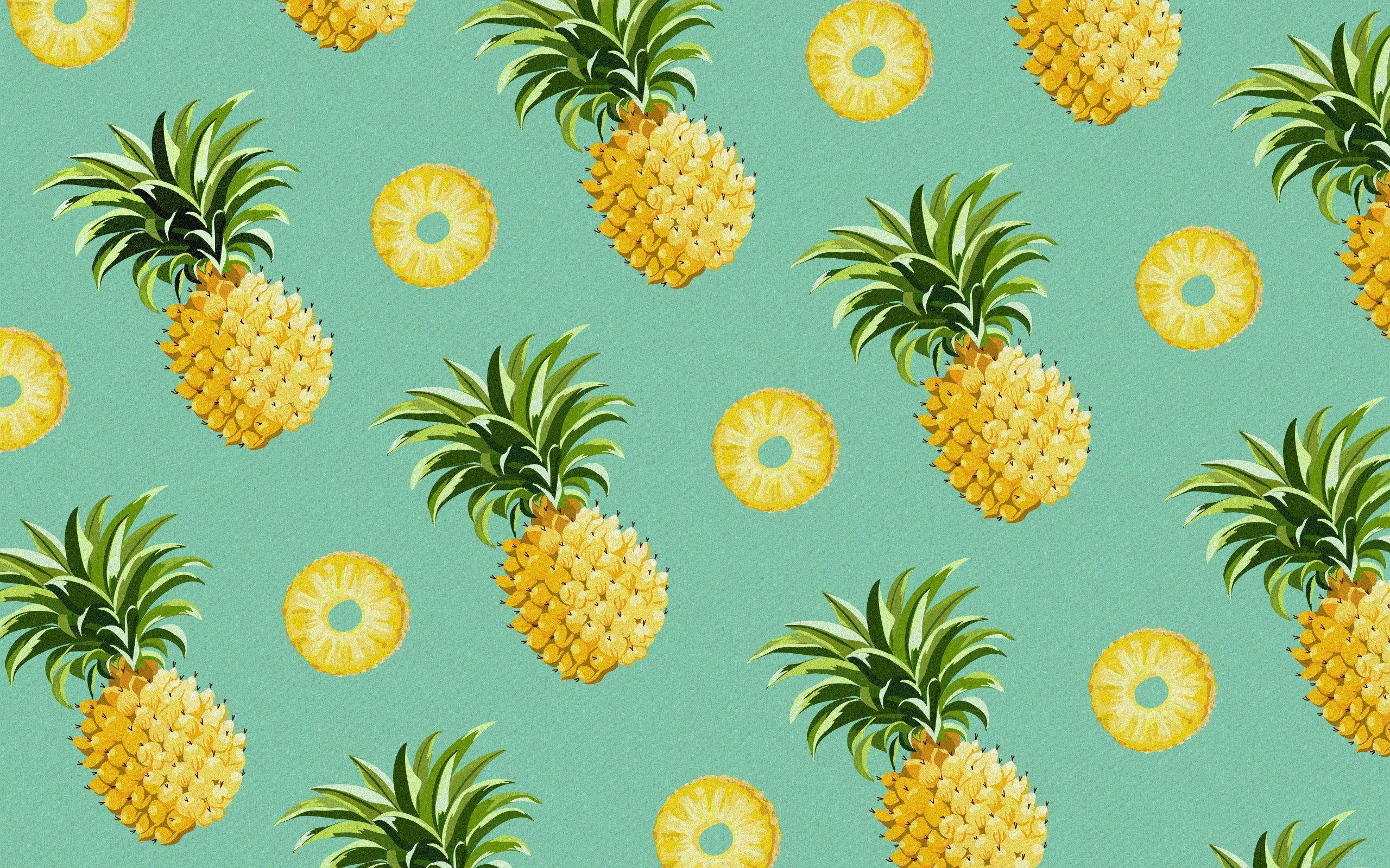 pineapple backround wallpapers