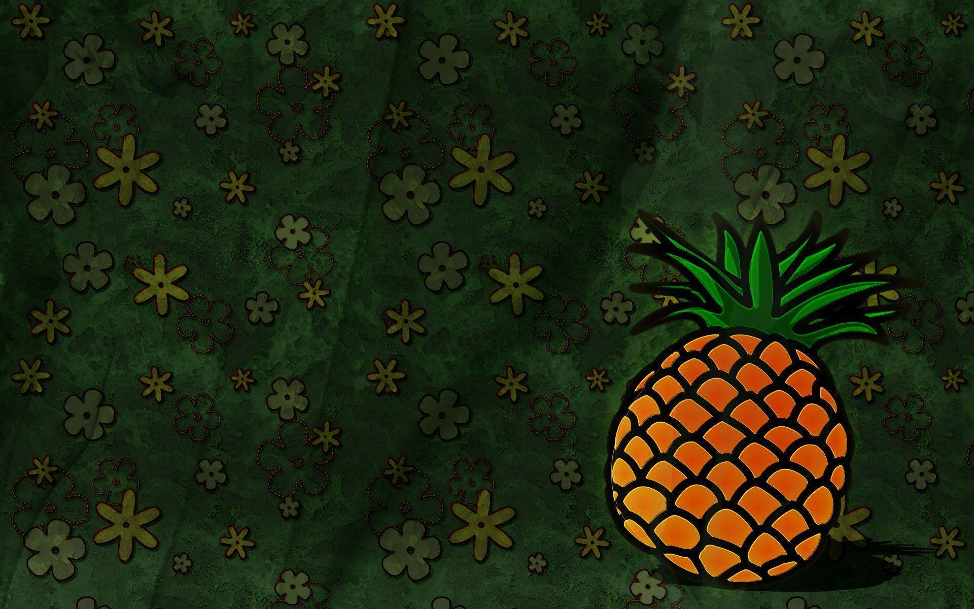 cute pineapple backgrounds