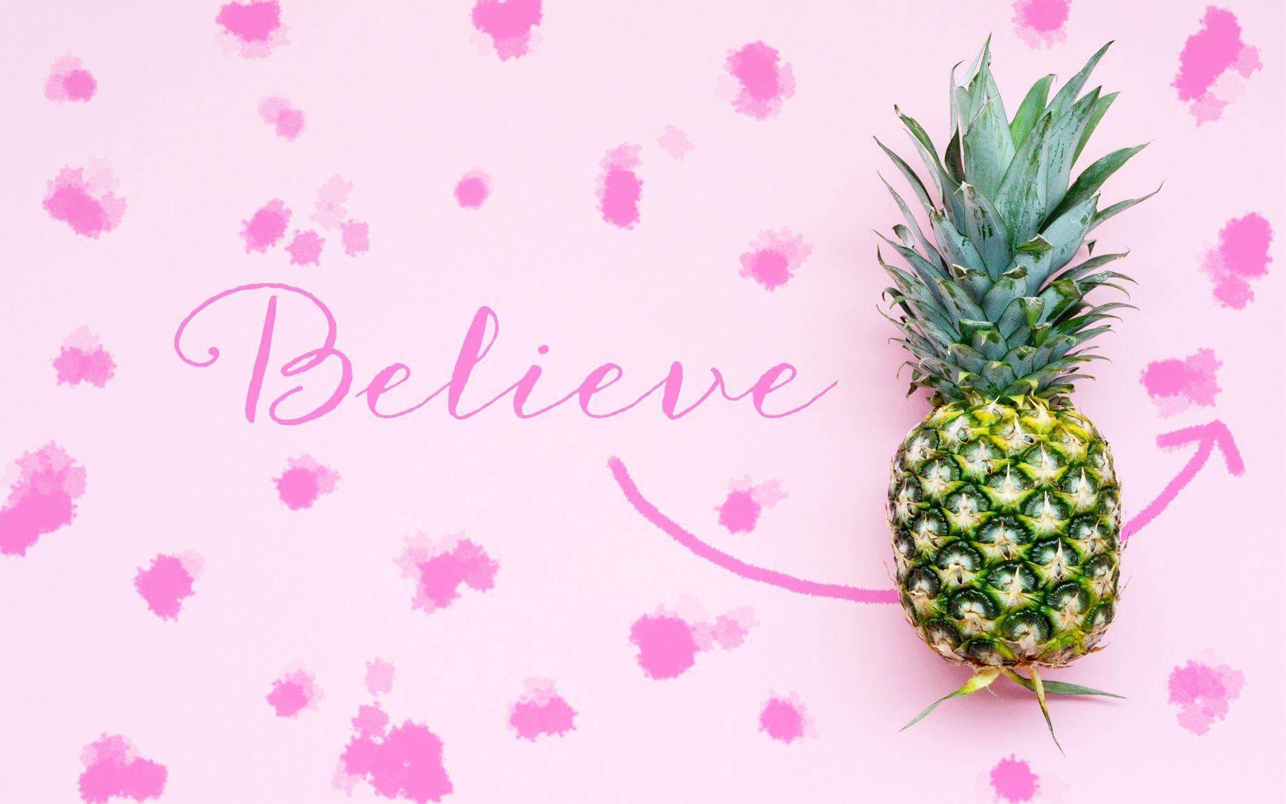 pineapple laptop wallpapers hd
