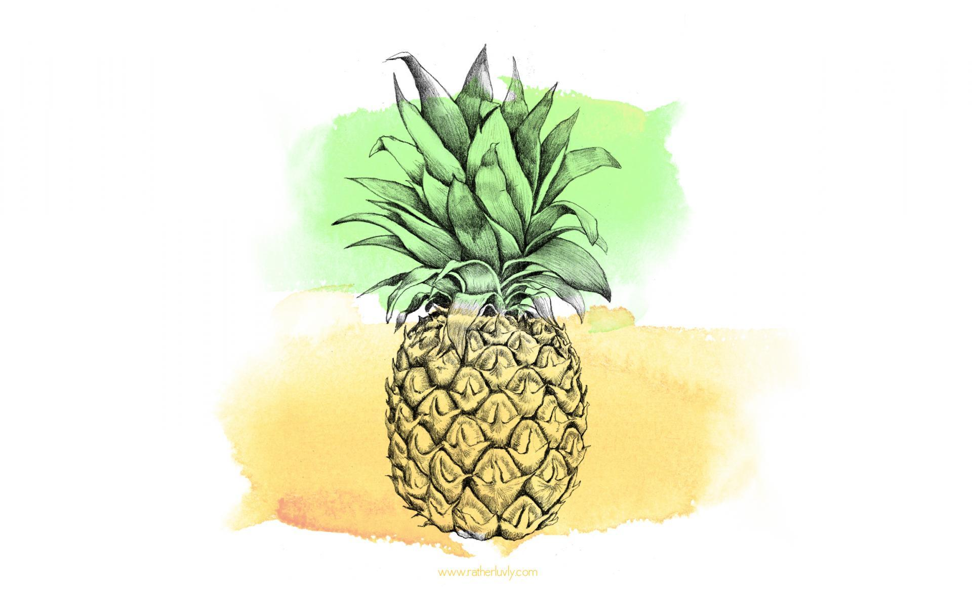 pineapple facebook cover photo