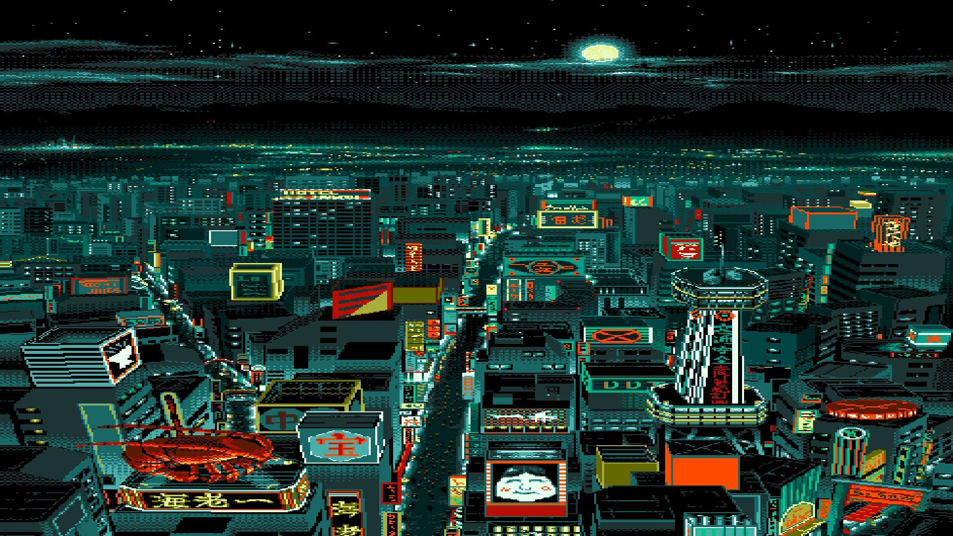 pixel art wallpaper android