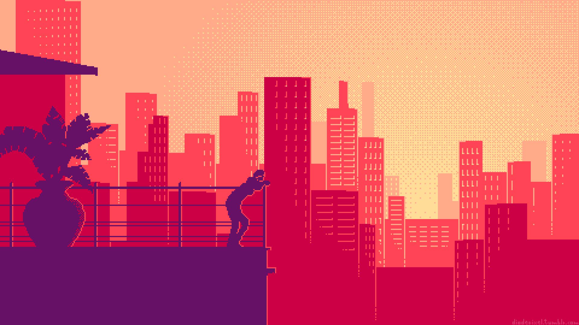pixel art wallpaper pc