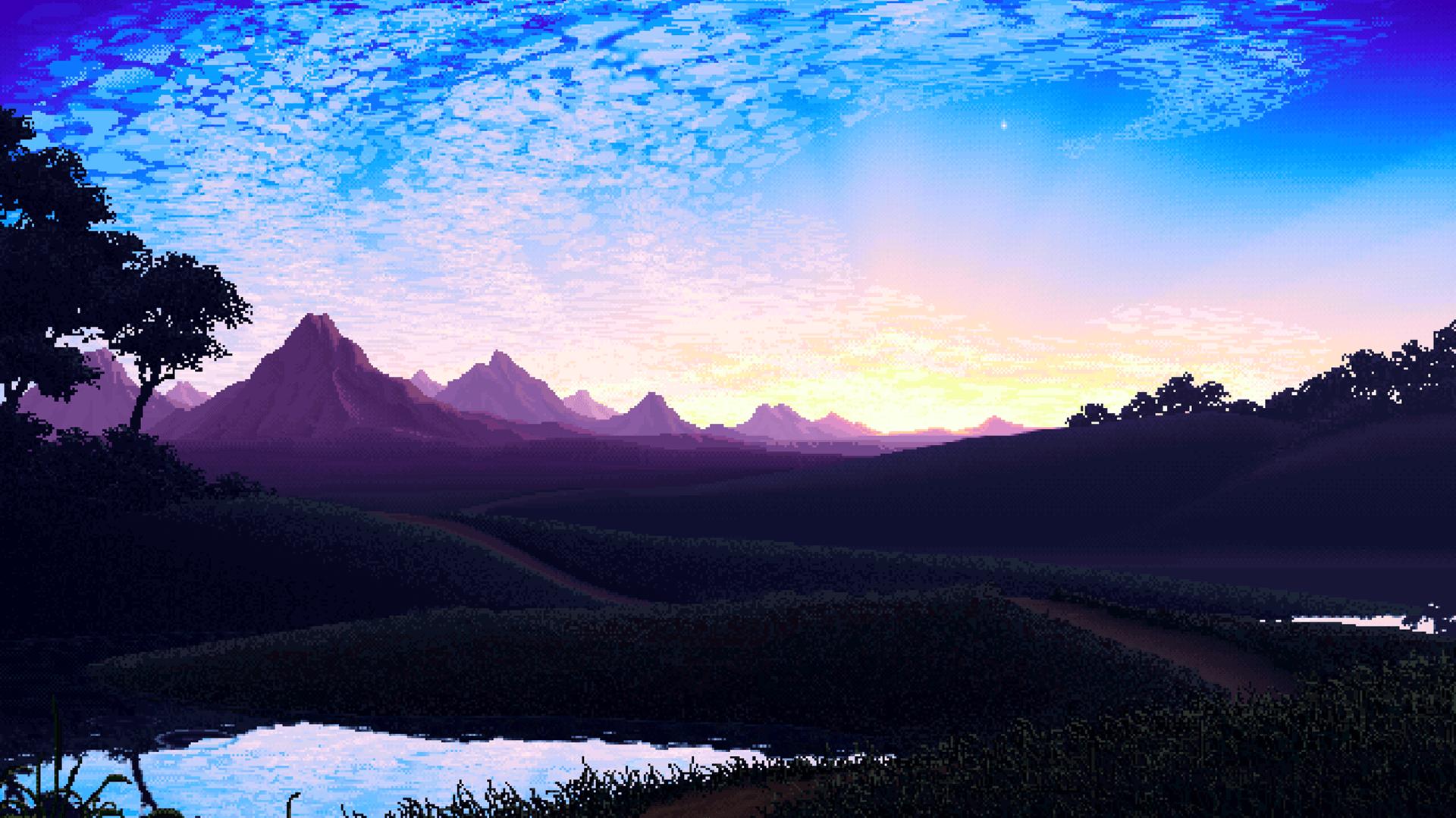 best pixel art wallpaper
