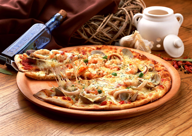 4k pizza images