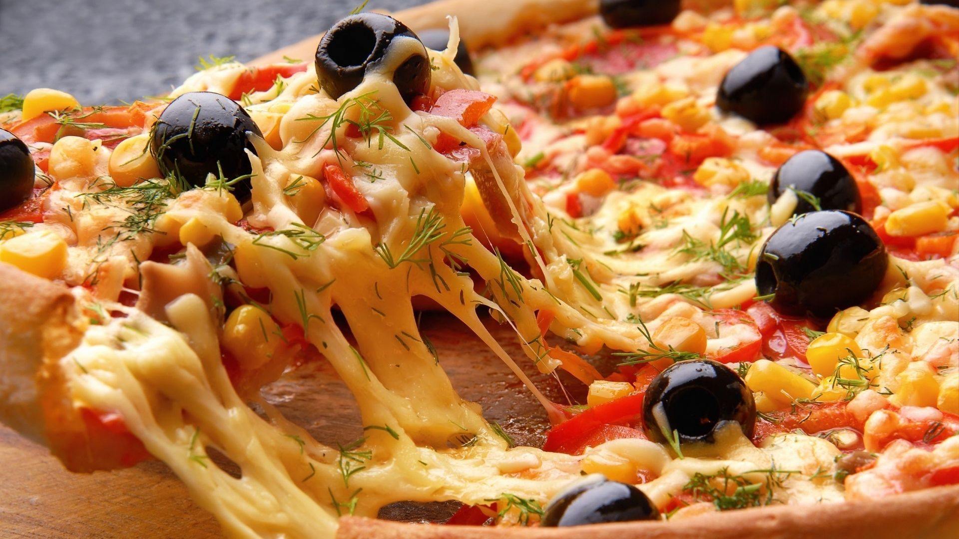 veg pizza png
