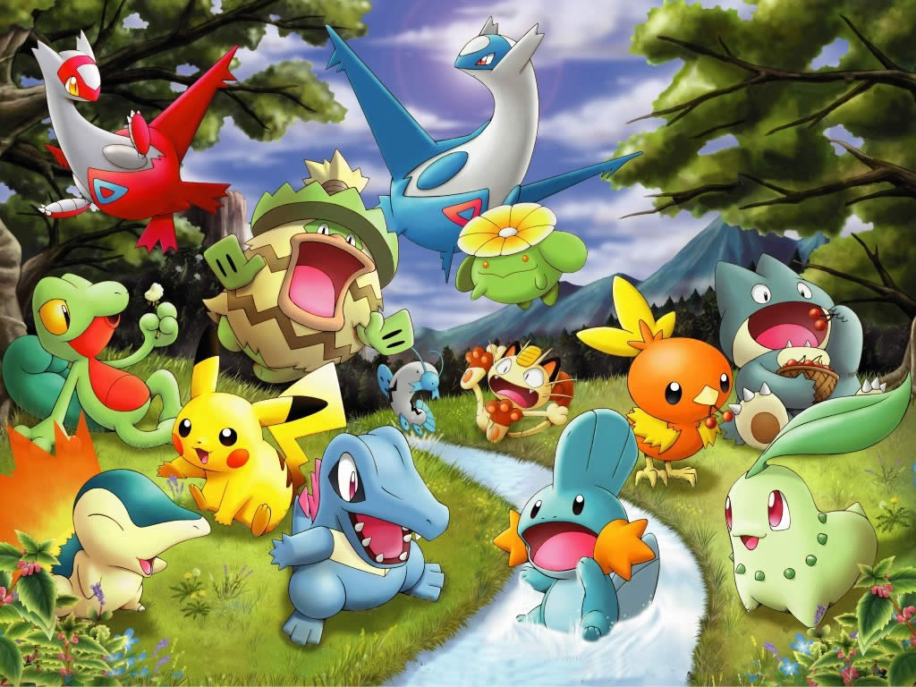 pokemon game wallpaper
