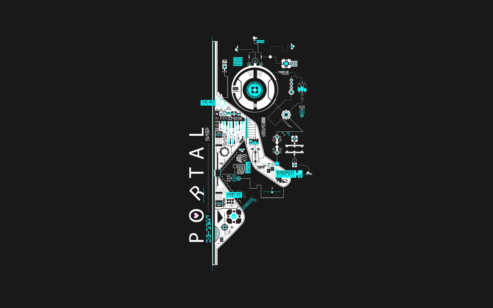 portal wallpaper android