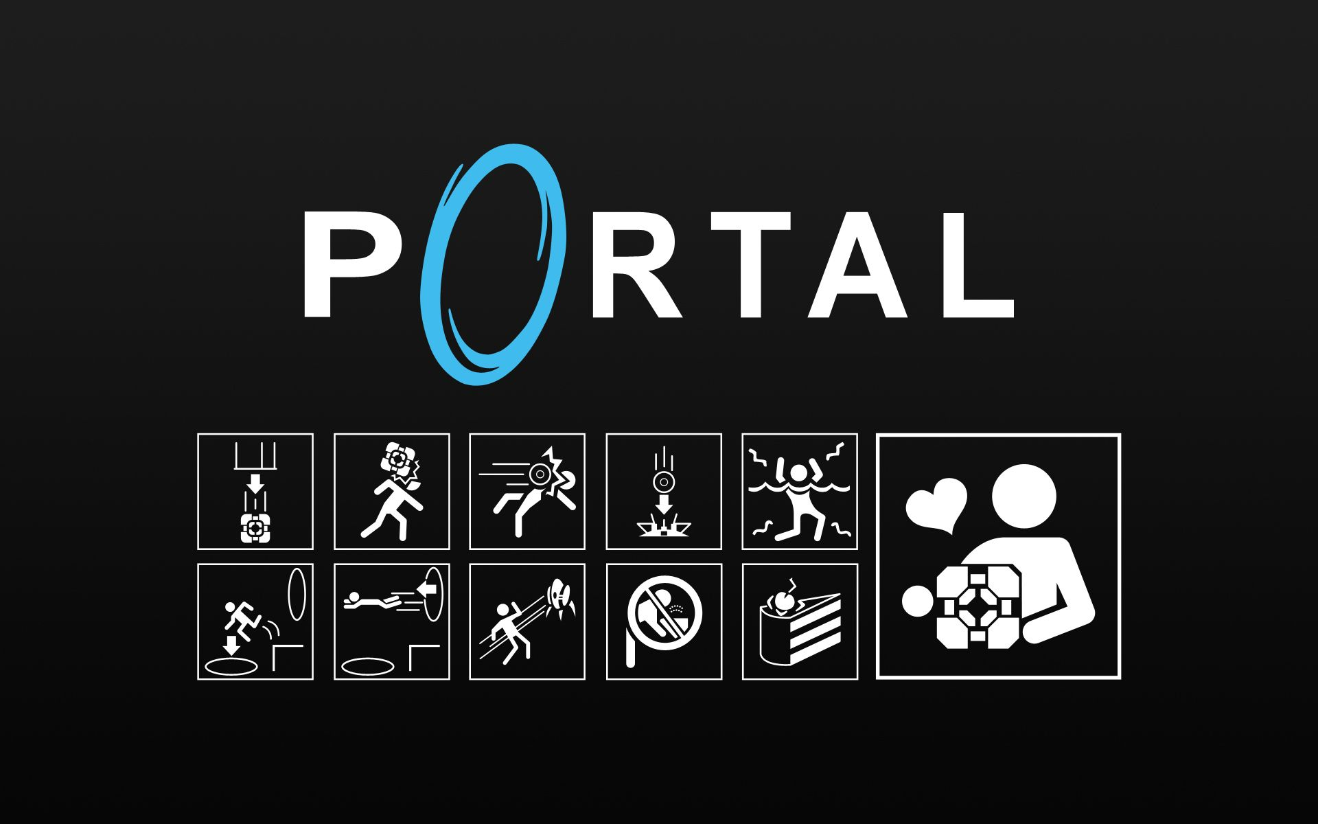 portal 2 wallpapers hd
