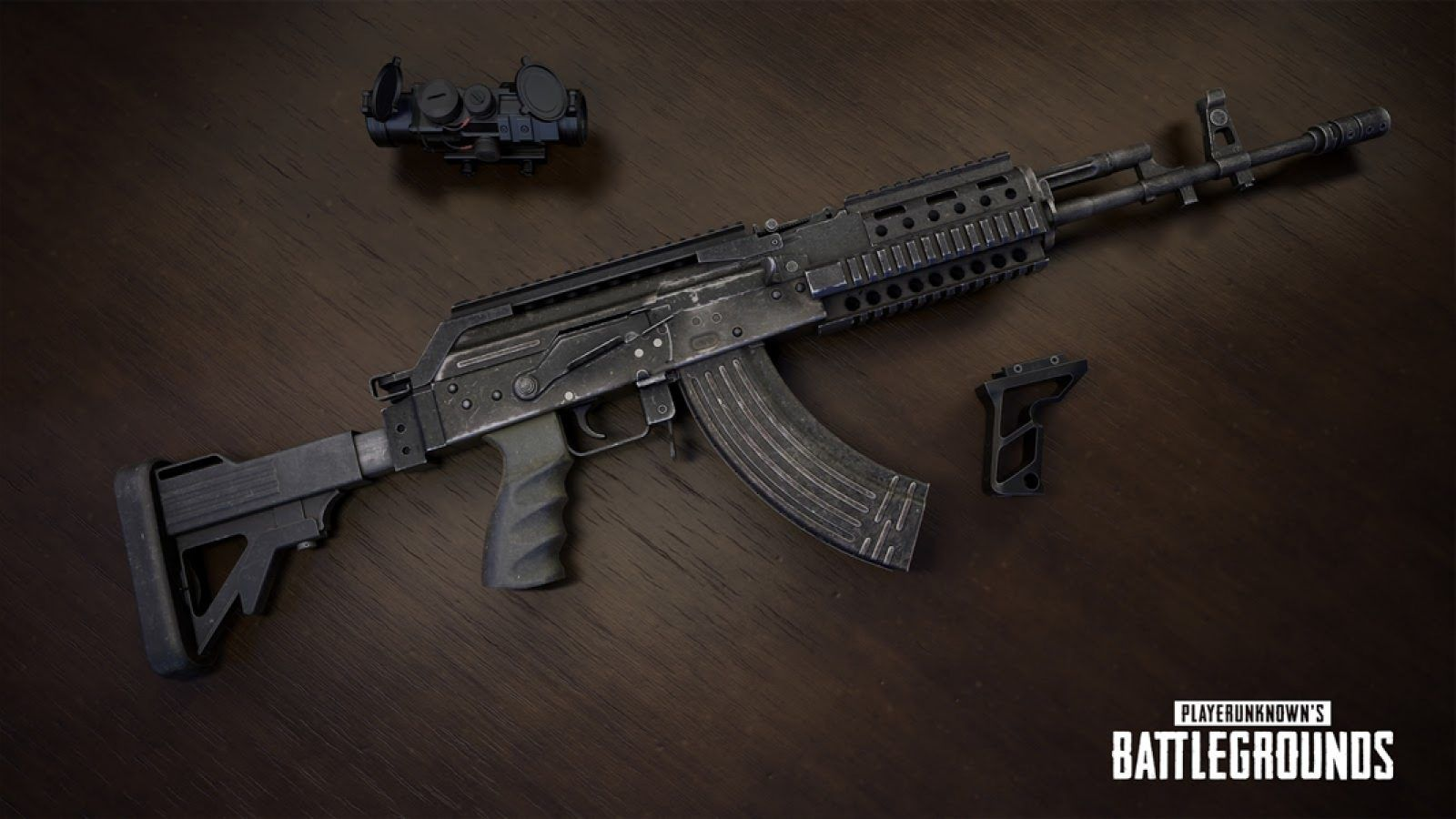 pubg gun 762, pubg wallpaper hd, wallpaper to download for free