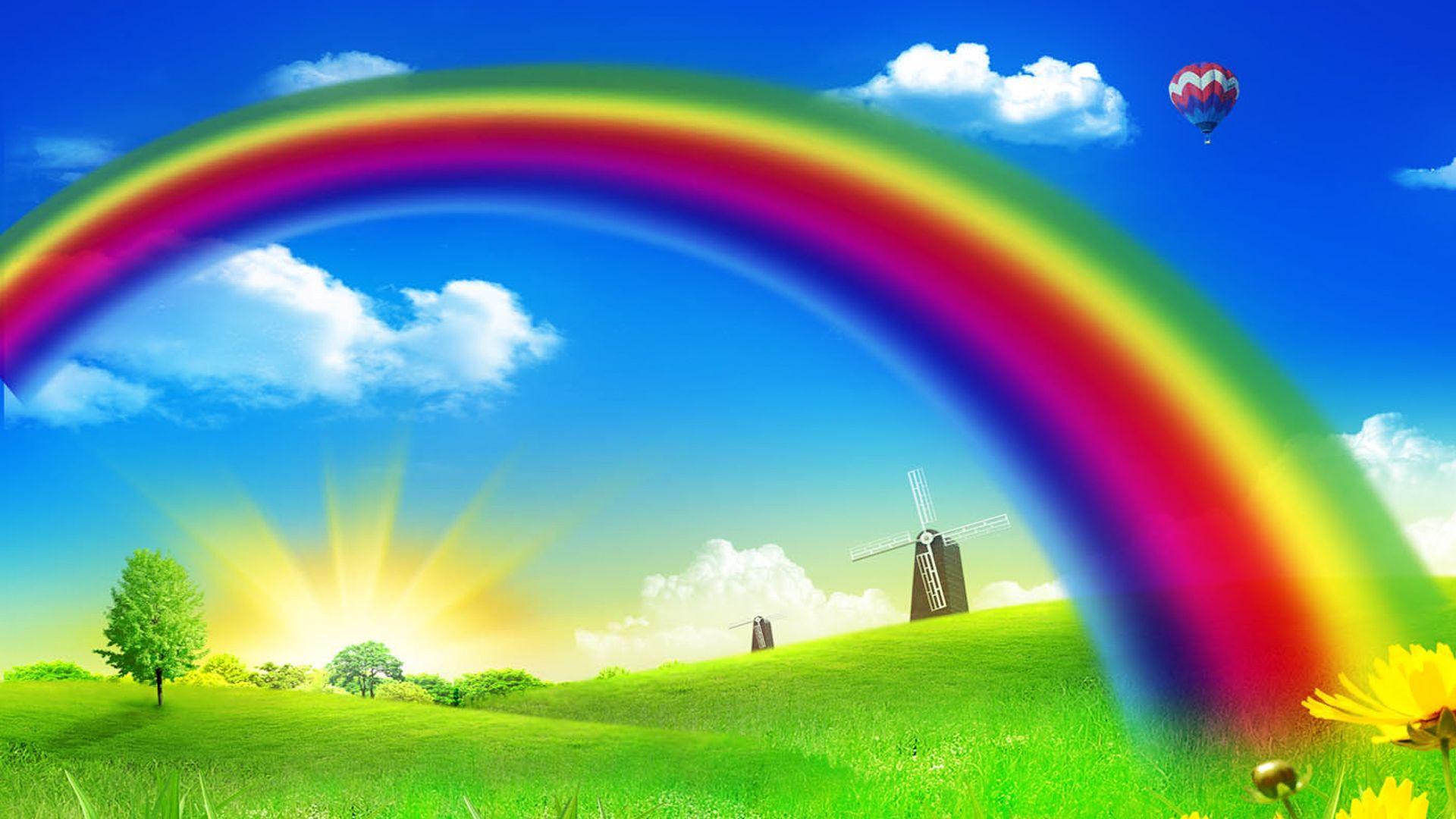rainbow high definition