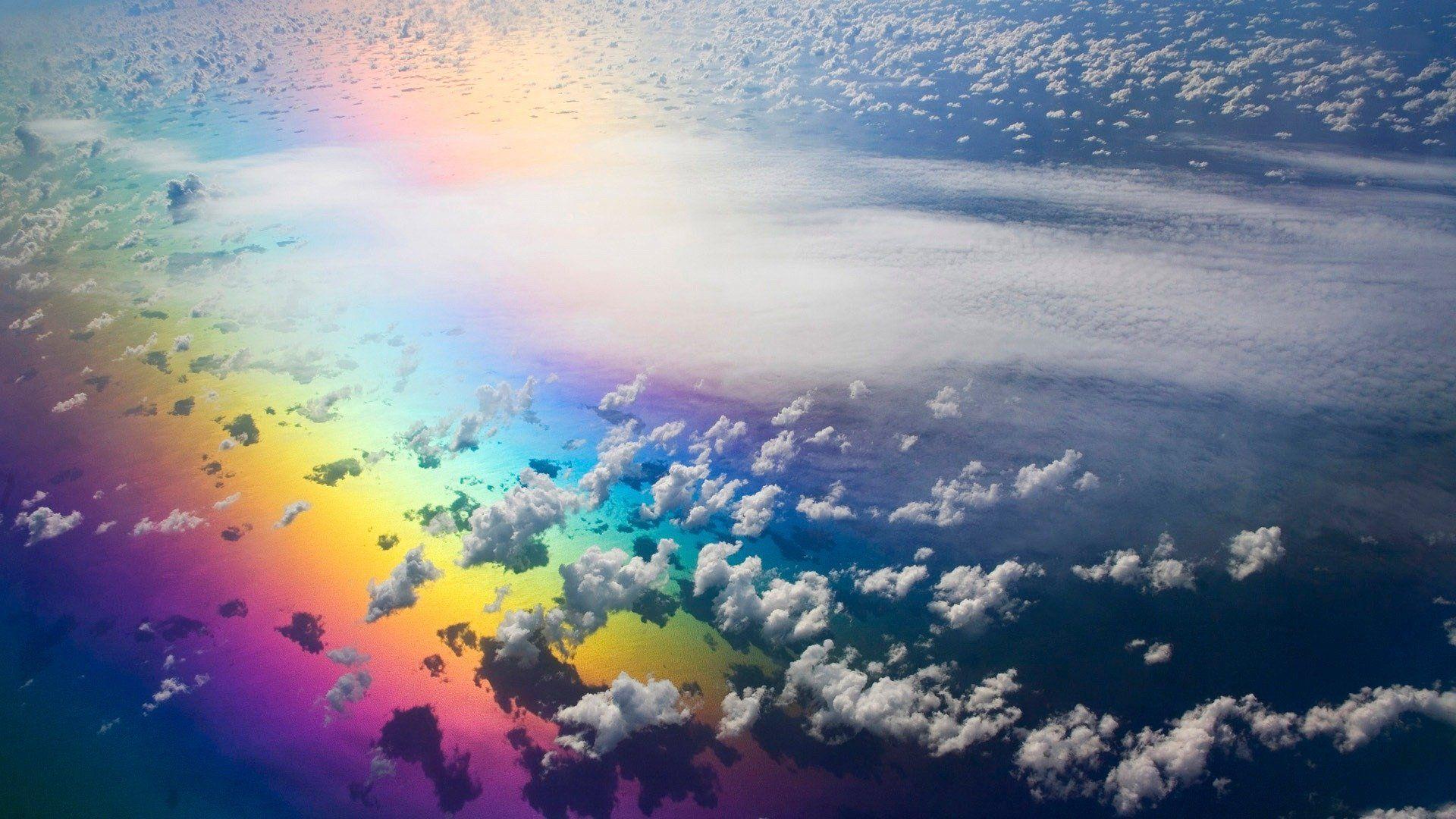 Rainbow Wallpaper free