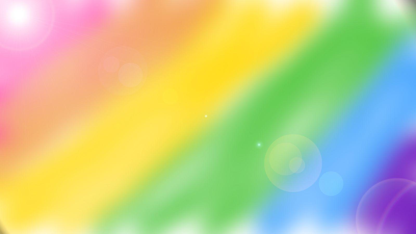 rainbow screensavers wallpaper