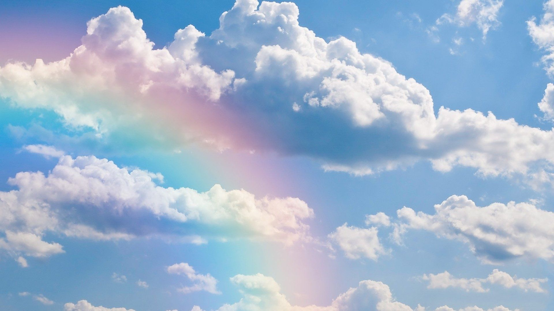 rainbows screensavers hd free