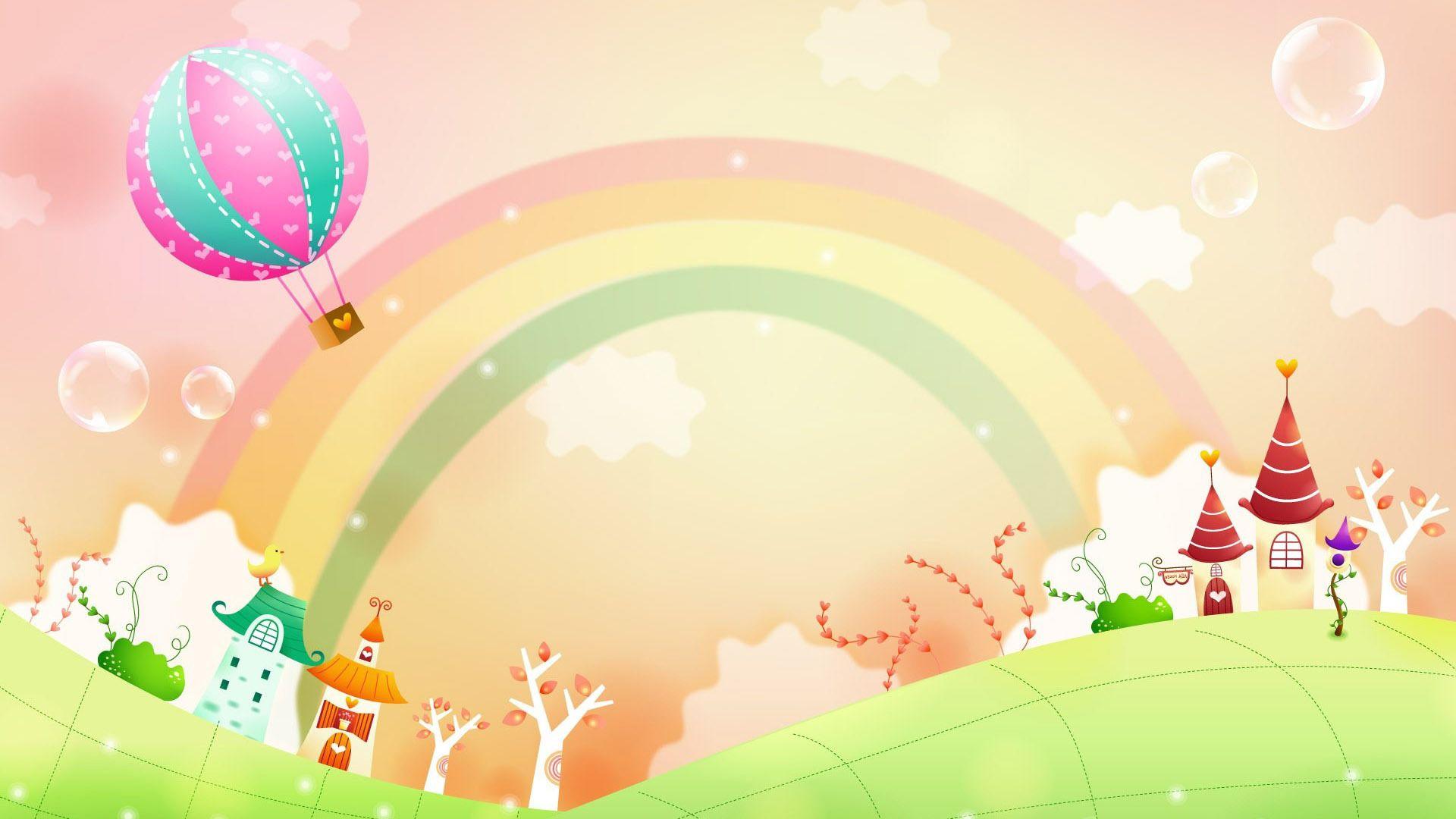 desktop wallpaper rainbow
