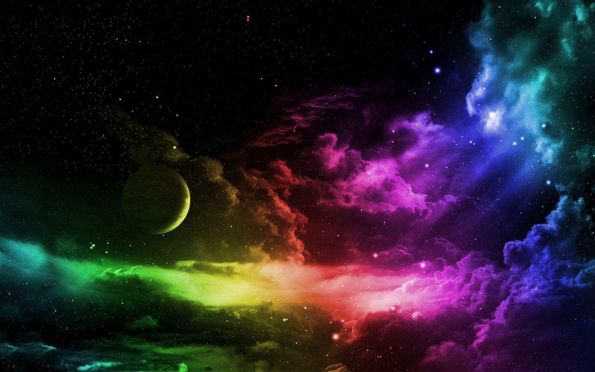 hd wallpaper rainbow