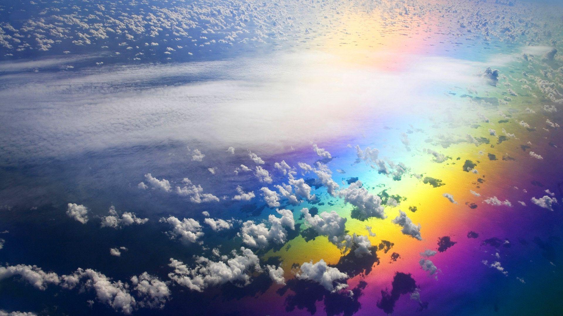 high resolution rainbow wallpaper