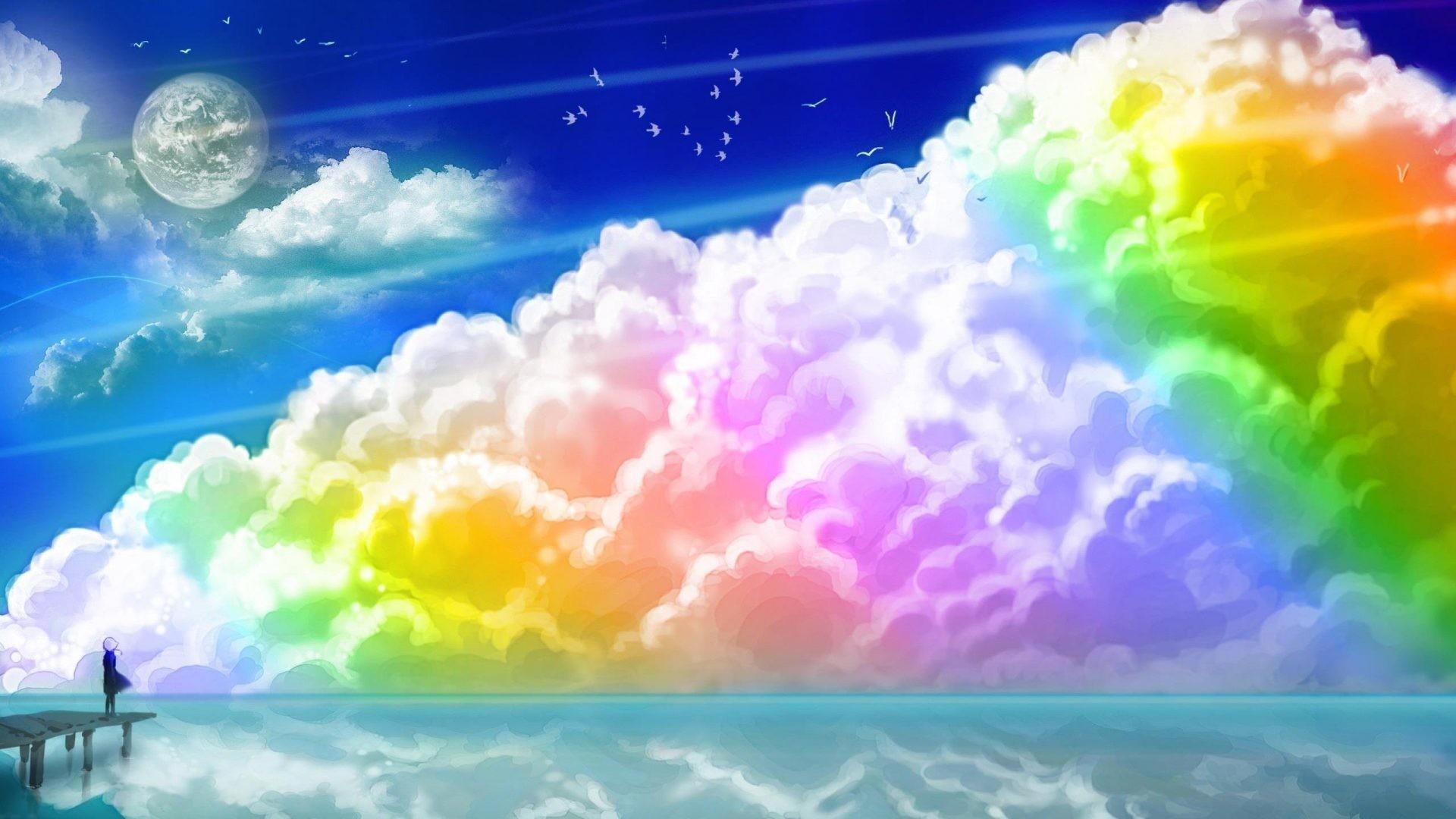 free rainbow images