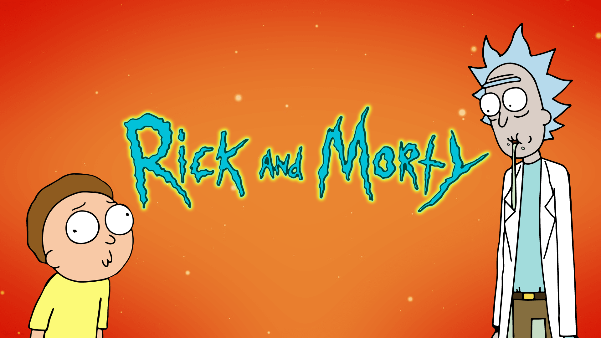 rick and morty supreme wallpaper