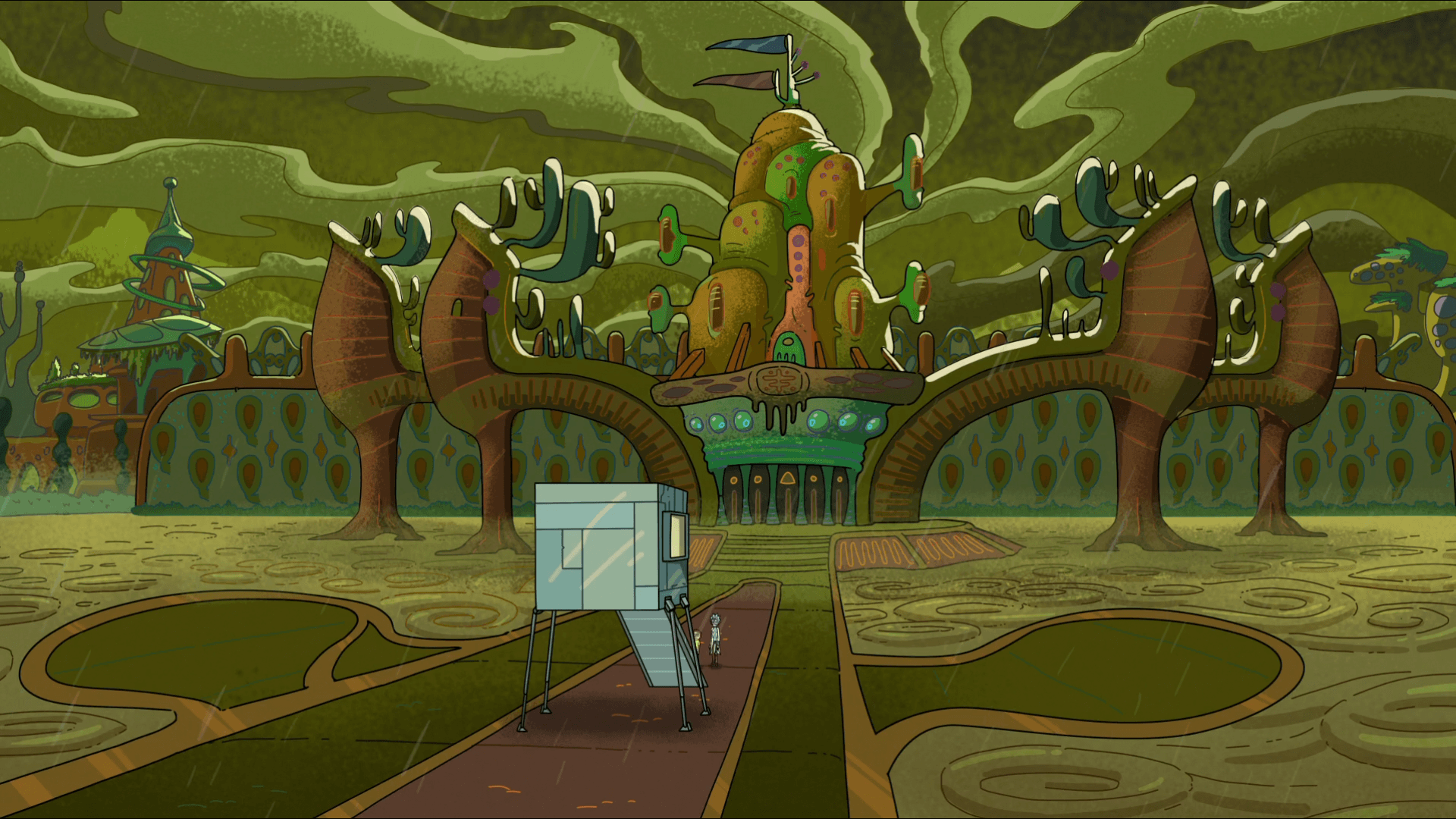rick and morty pc wallpaper, rick and morty hd wallpaper