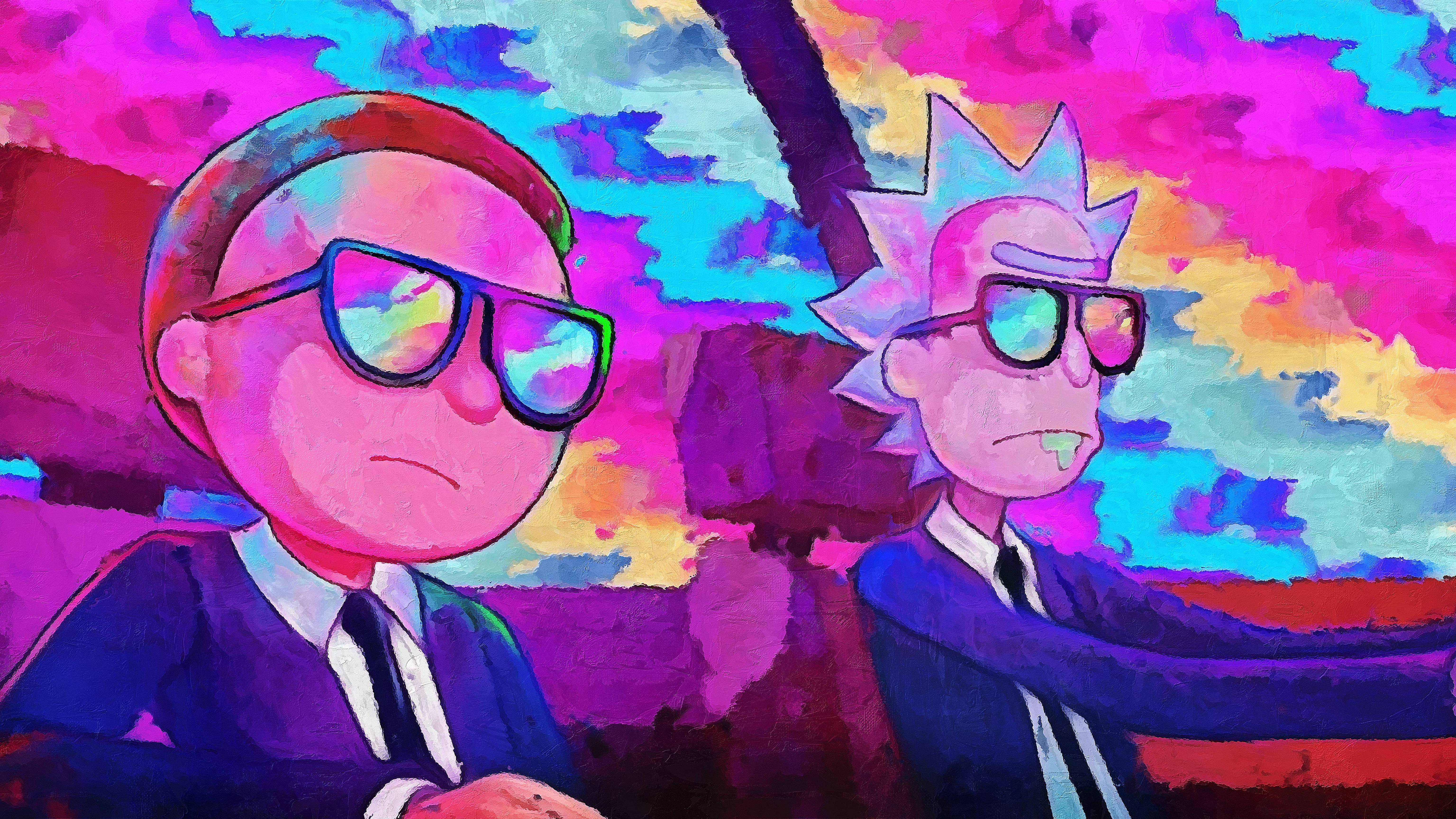 rick and morty 1080p wallpaper, hd rick and morty wallpapers
