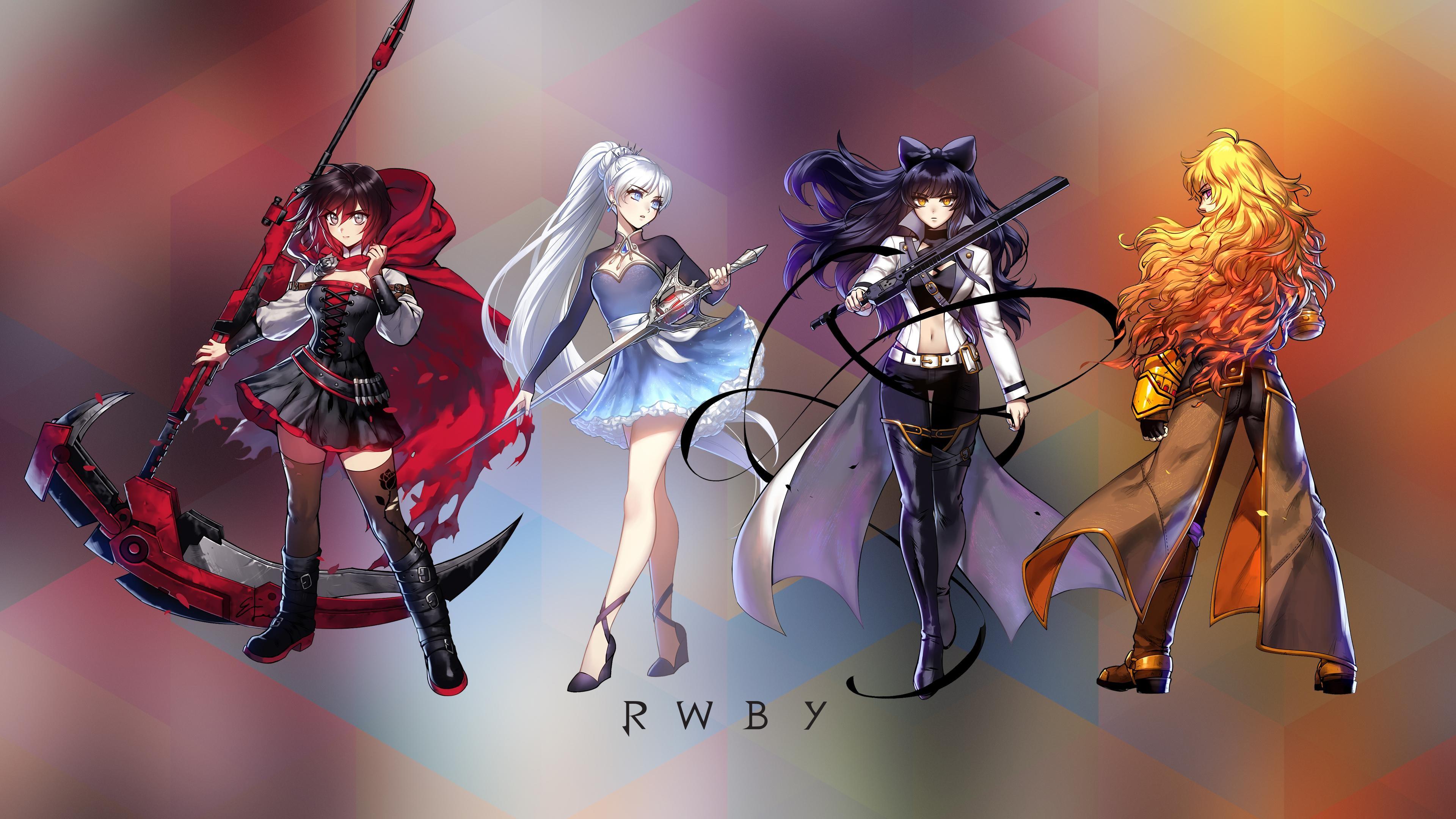 team rwby wallpaper