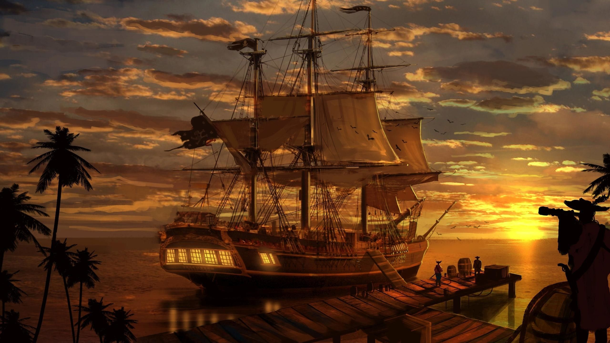 ship wallpaper hd