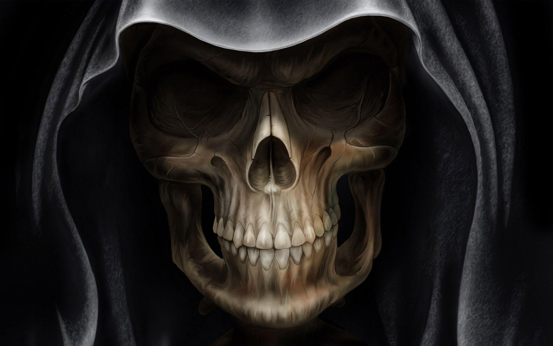 skull wallpaper download
