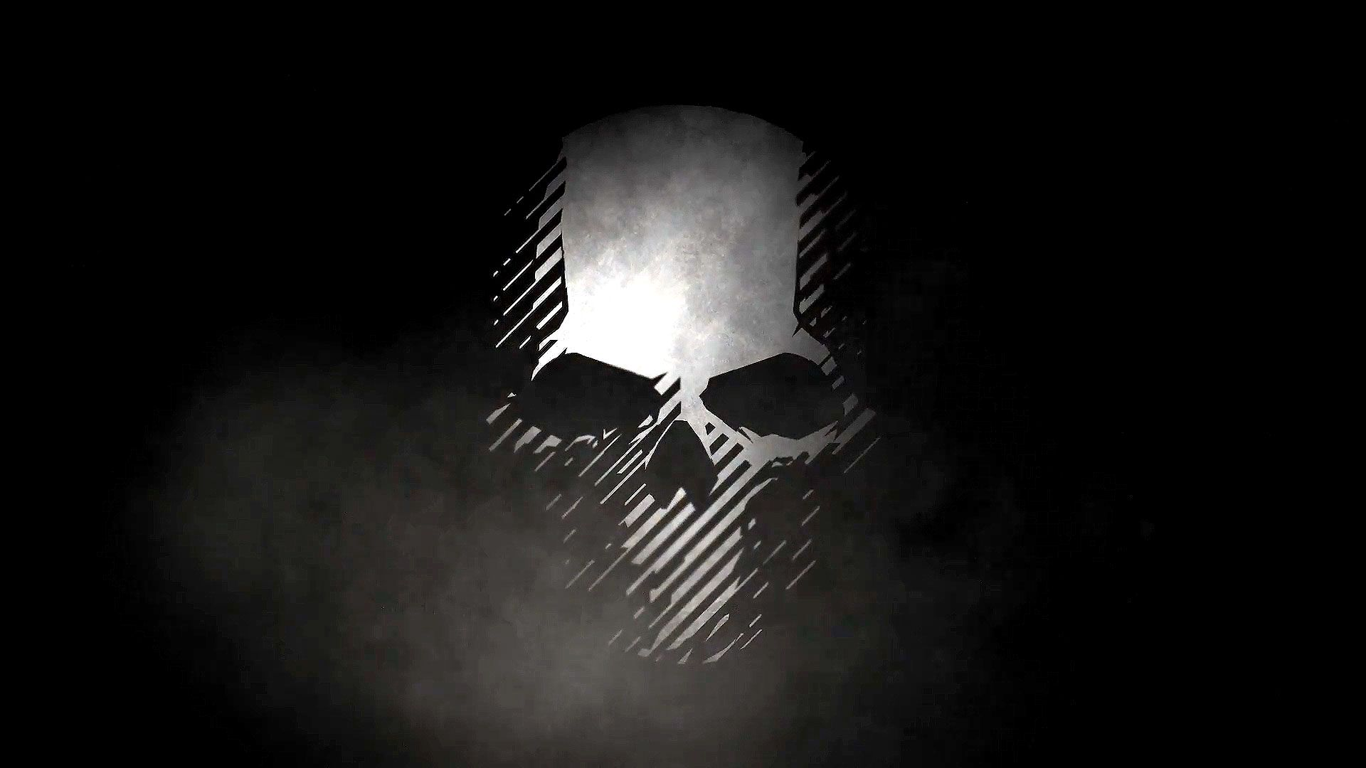 wallpaper of skull