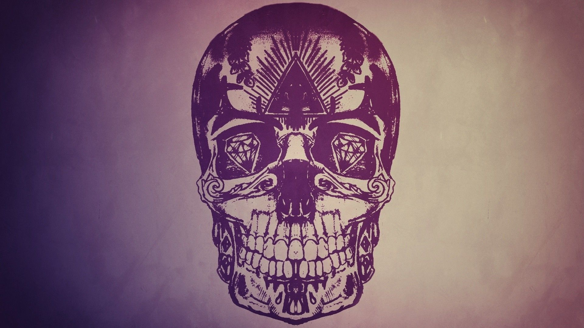 cool skulls wallpapers