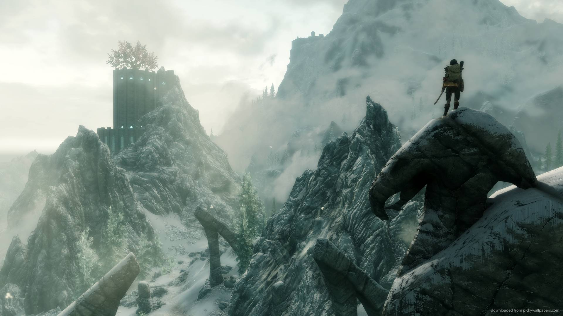 skyrim wallpaper 1920x1080, skyrim hd 4k
