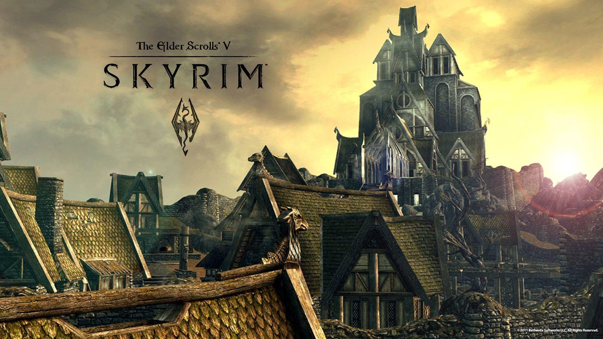 hd skyrim wallpapers 1920x1080, 1920x1080 skyrim wallpaper