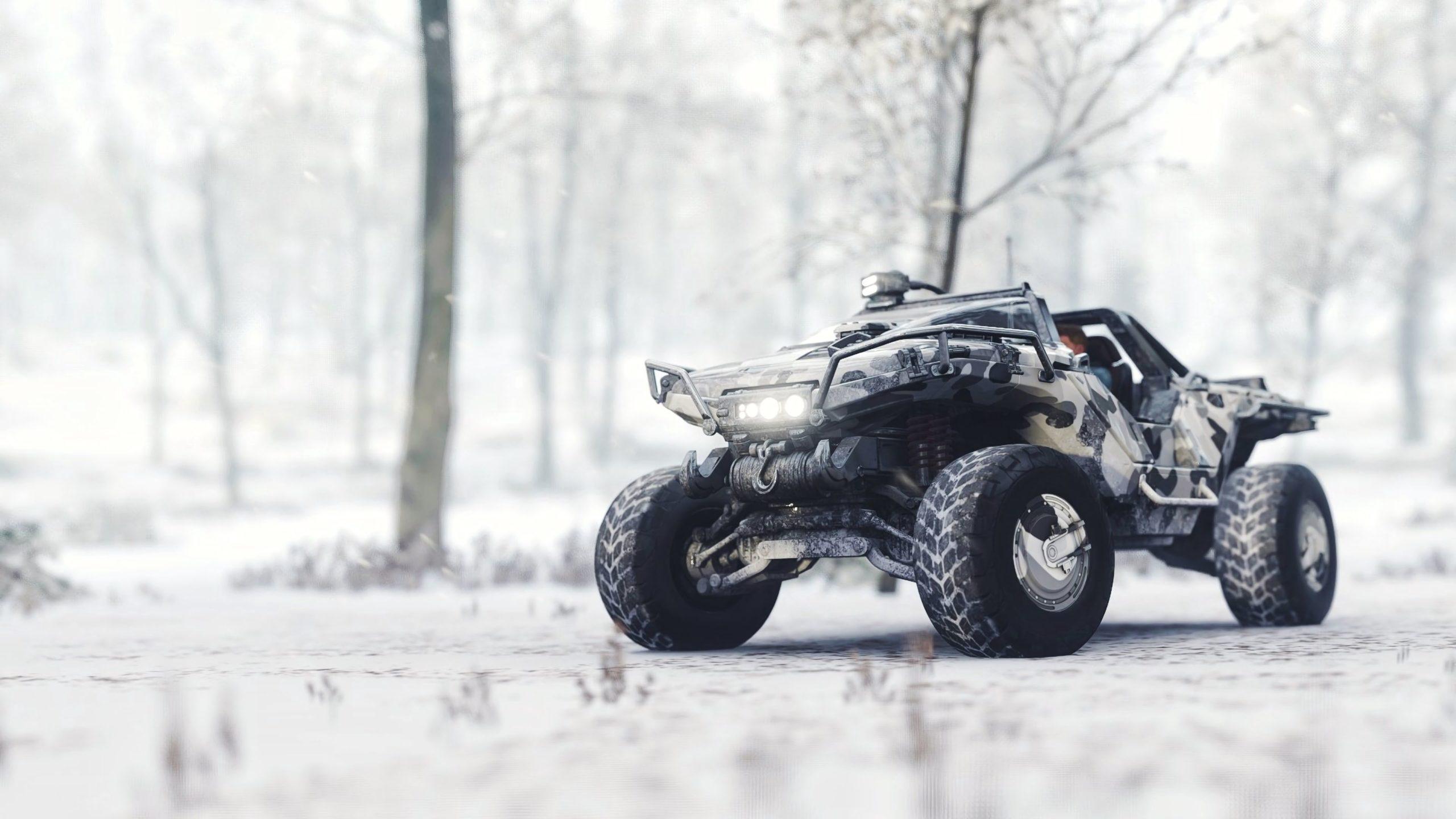 beautiful snow background