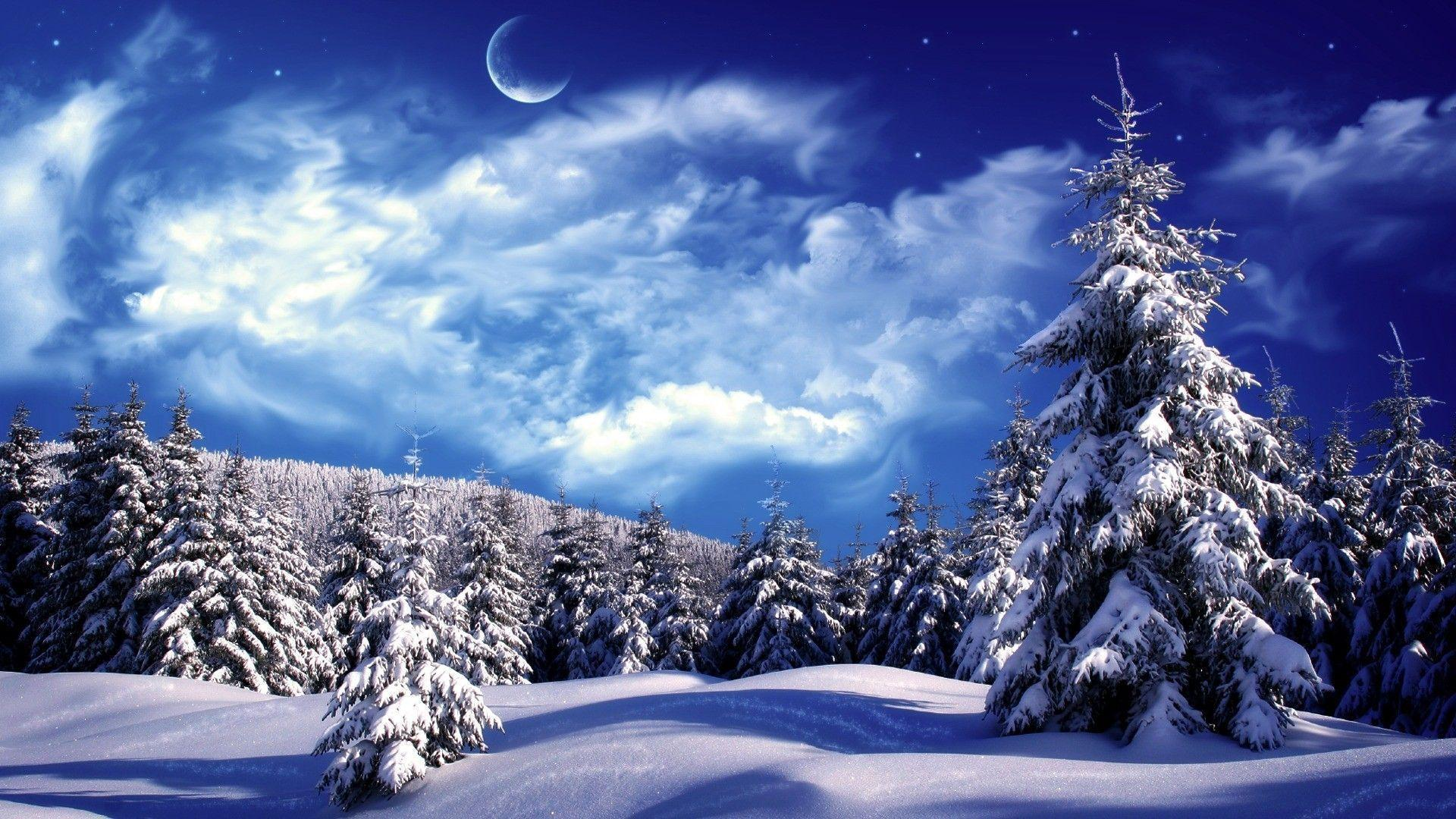 beautiful snow pictures backgrounds