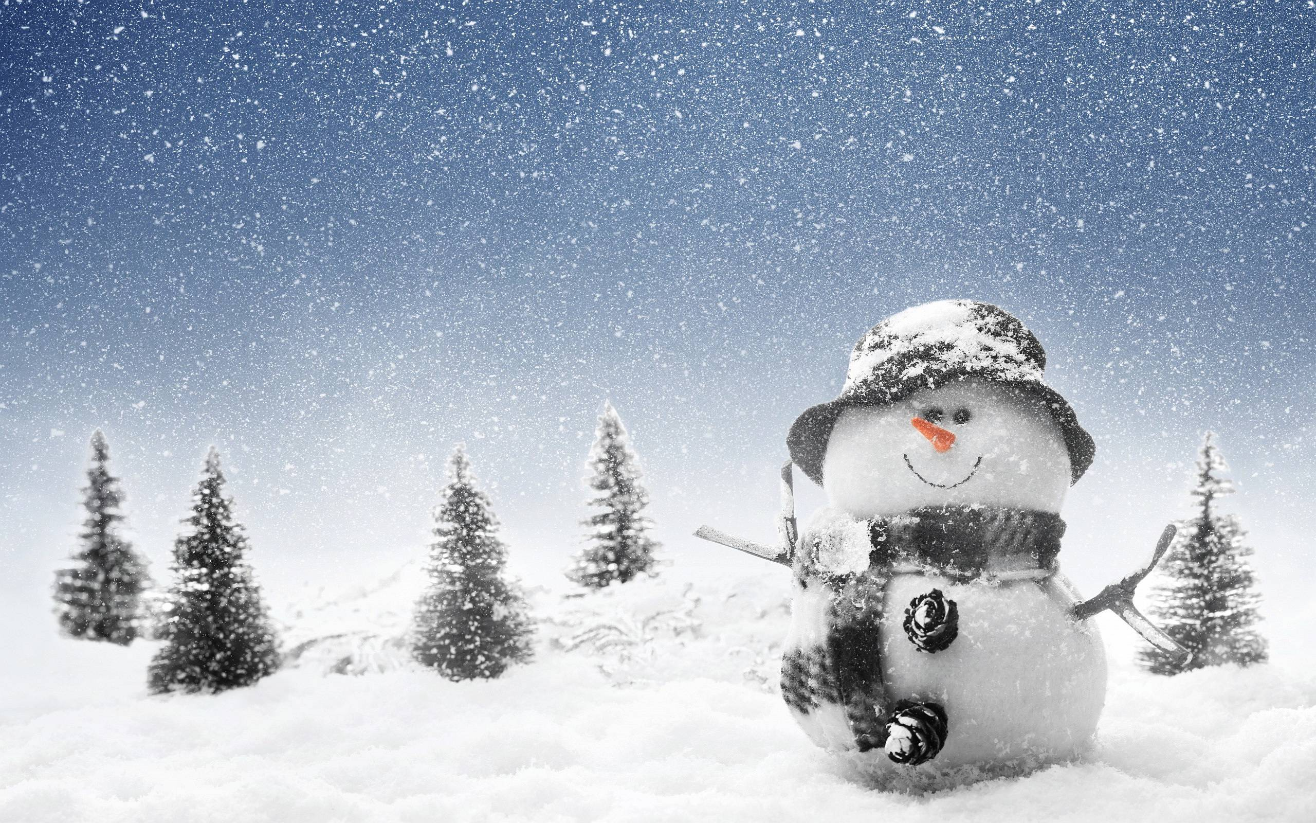 snow man backgrounds