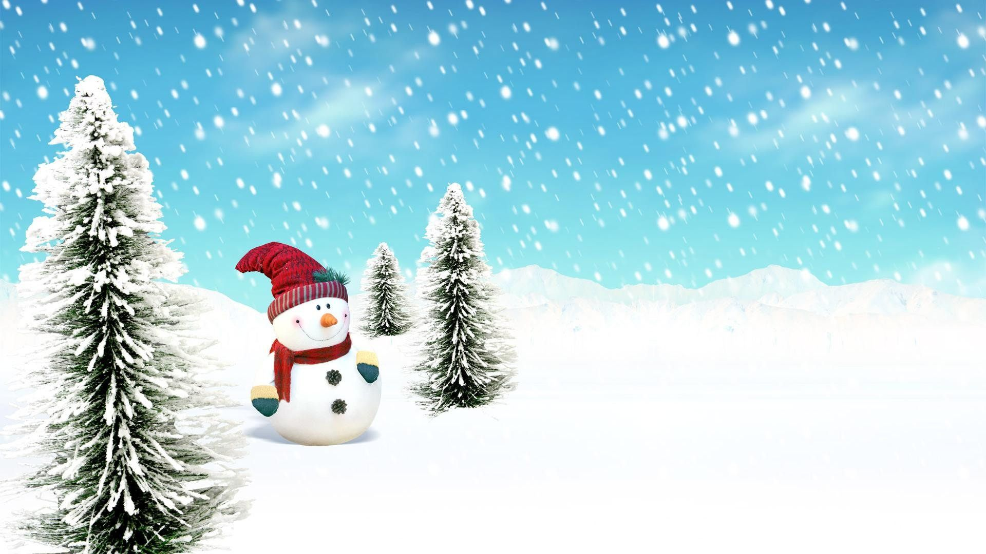 free snowmen wallpapers
