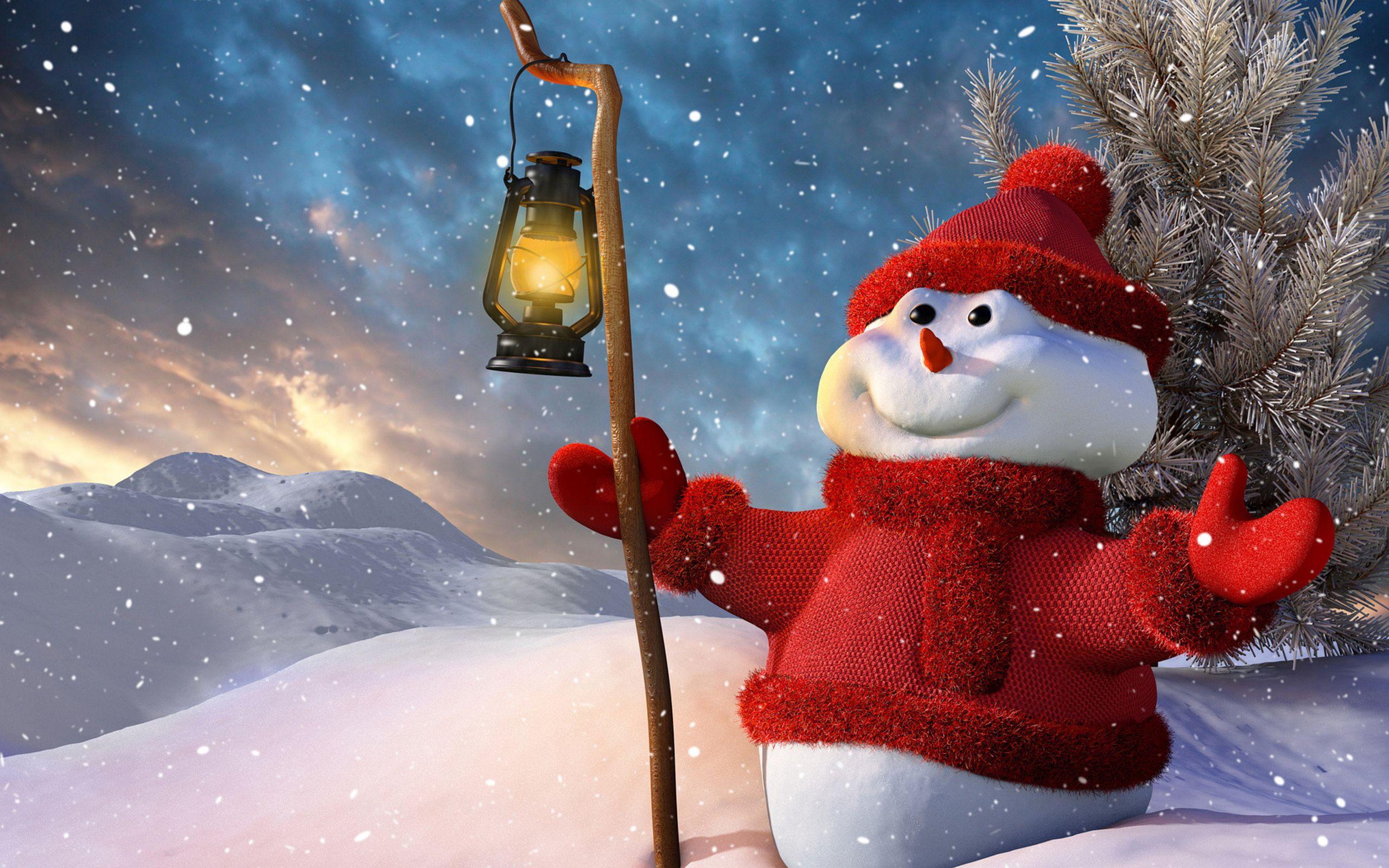 snowman picture hd
