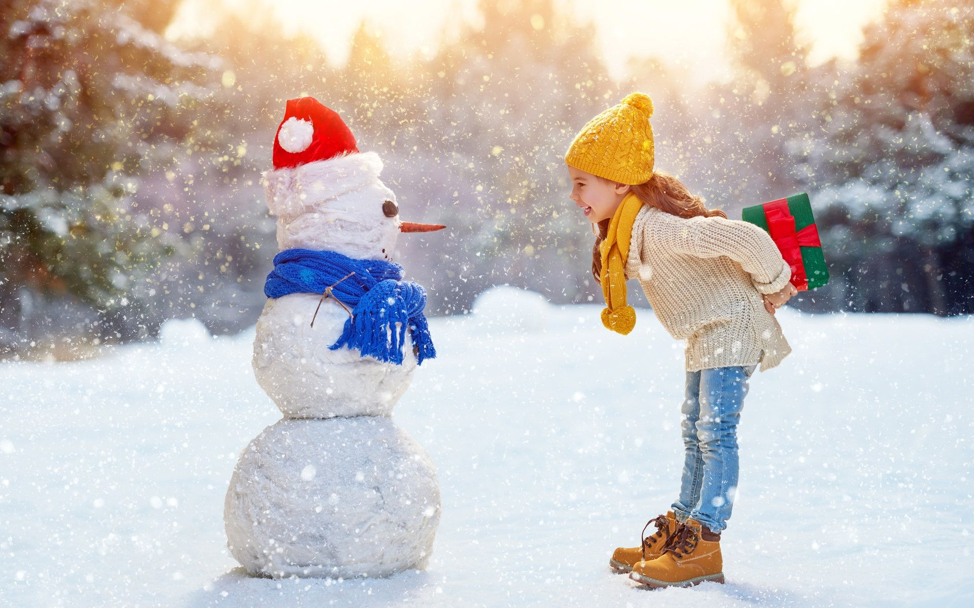 snowman photos in hd
