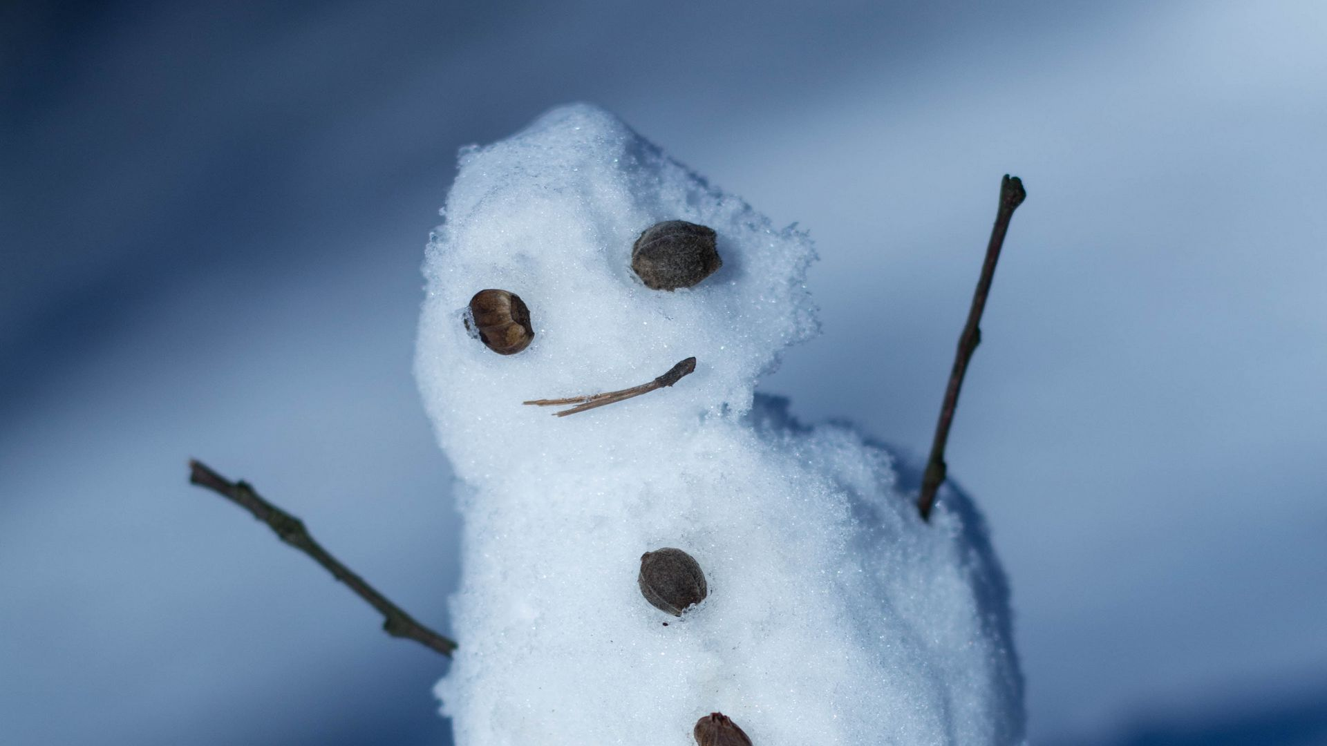 snowman photography in hd
